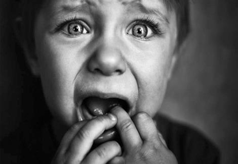 الحوف عند الاطفال