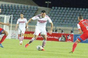 الزمالك يتعادل مع الفتح الرباطي في البطولة العربية