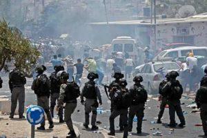 """استشهاد مواطن فلسطيني و إصابة العشرات في أحداث """"جمعة الغضب"""""""