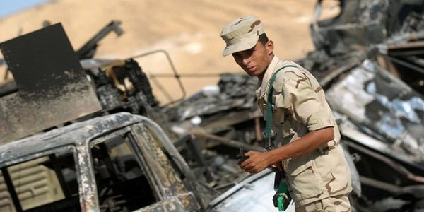 استشهاد رجال القوات المسلحة في هجوم رفح