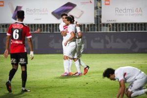 نتيجة مباراة الزمالك وطلائع الجيش 3-0 بكأس مصر 2017