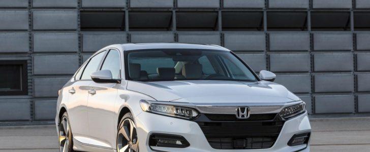 شركة هوندا تكشف Honda Accor2018