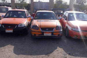 مديرية أمن الإسماعيلية تتحفظ علي ٢١ سيارة و سائقيها بسبب رفع الأجرة علي المواطنين