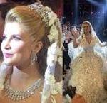 ابن يوسف شعبان يتزوج أبنة أكبر جواهرجي بلبنان والعروس تلفت الأنظار بمجوهراتها