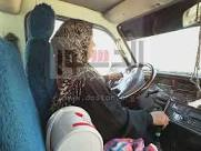 سناء غريب اول سائقة ميكروباص في الصعيد