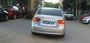 مصدر أمني بالغربية السيارة المكتوب عليها باشا مصر ليست لضابط أو مستشاراً