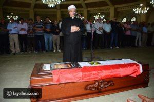 تشيع جثمان عمر سمير وسط الصراخ والعويل وأنهيار والدته في الجنازة