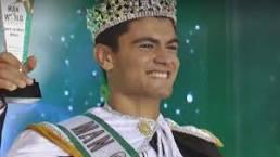 مصطفي جلال الفائز بلقب ملك جمال العالم لعام ٢٠١٧