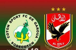 موعد مباراة الأهلي والقطن الكاميروني والقنوات الناقلة بدوري الأبطال