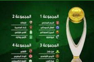 ترتيب مجموعات دوري أبطال إفريقيا 2017 بعد الجولة الأخيرة