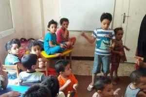 العثور علي ٣٦ طفلاً داخل شقة بمنطقة المندرة بالإسكندرية