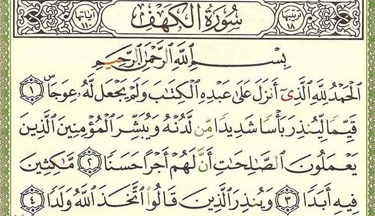 Photo of تعرف علي فضل قراءة سورة الكهف يوم الجمعة