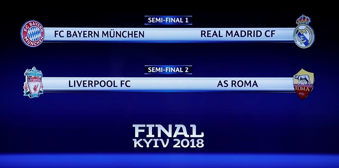 Photo of نتيجة قرعة نصف نهائي دوري أبطال أوروبا 2018 وكلاسيكو محتمل في البطولة