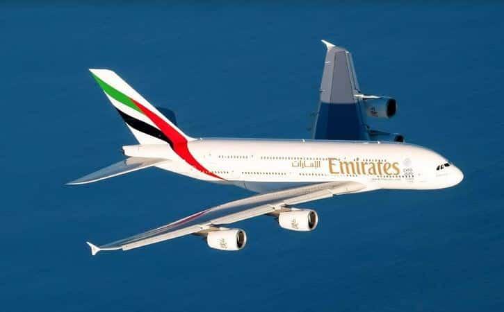 عروض طيران الإمارات مع الموفر